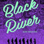 The cover art for Black River by Josh Simmons